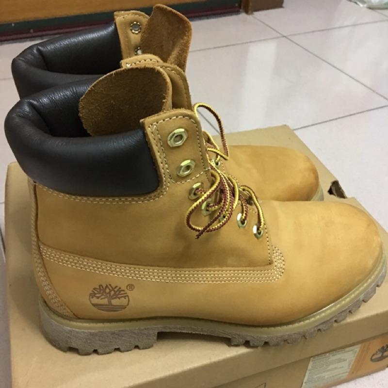 ✨降價出售✨可立即出貨✨timberland 男款經典6吋防水黃靴 尺寸7.5