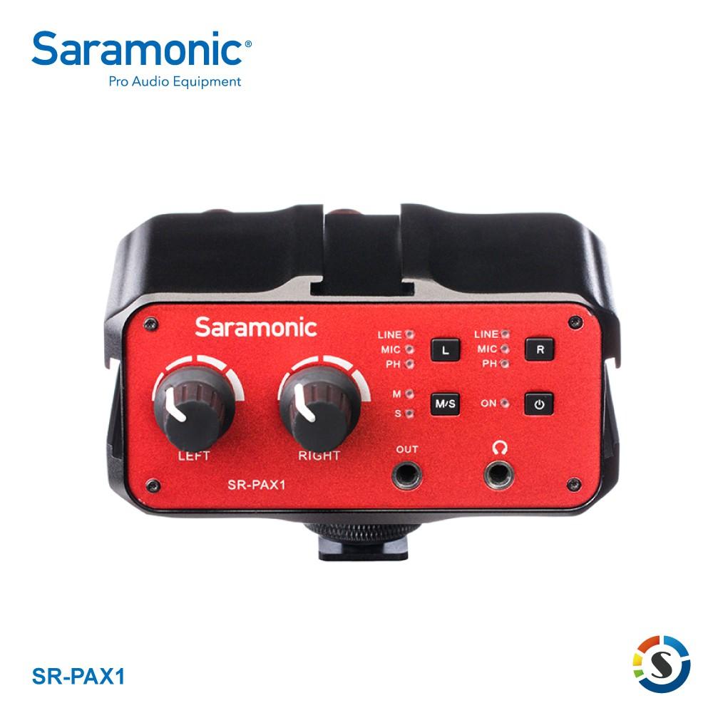 Saramonic楓笛 SR-PAX1 單眼相機、攝影機混音器