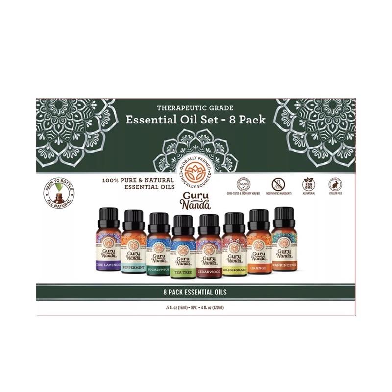 ✩美國代購✩美國Guru Nanda天然萃取100%純精油