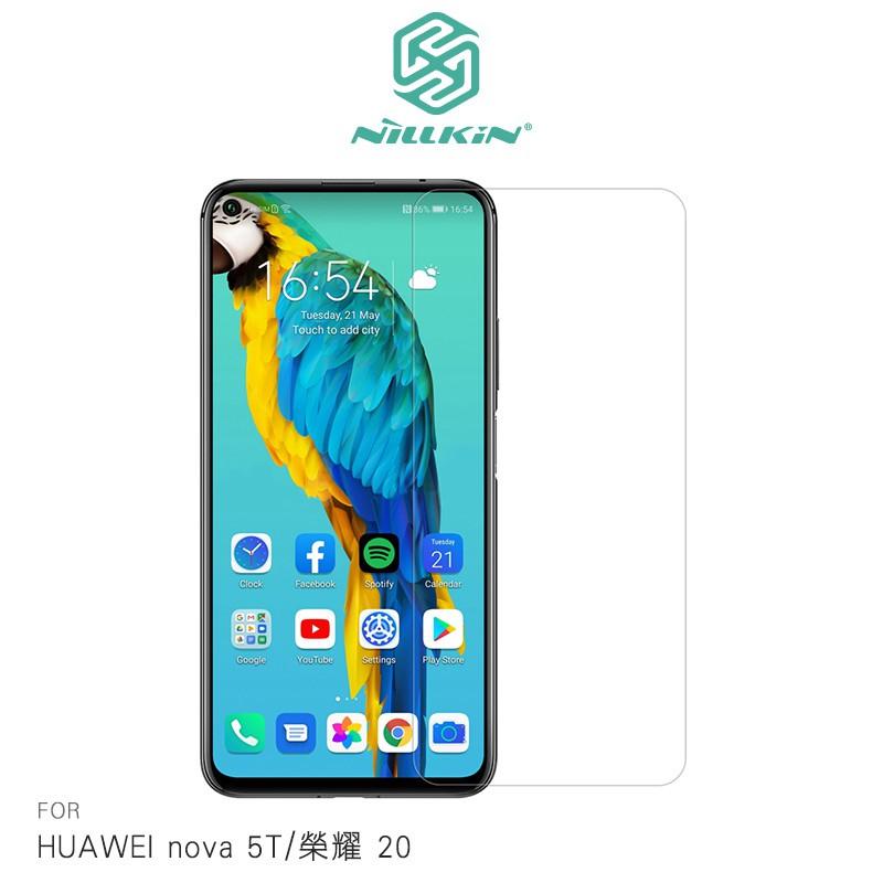 NILLKIN HUAWEI nova 5T/榮耀 20 Amazing H+PRO 玻璃貼