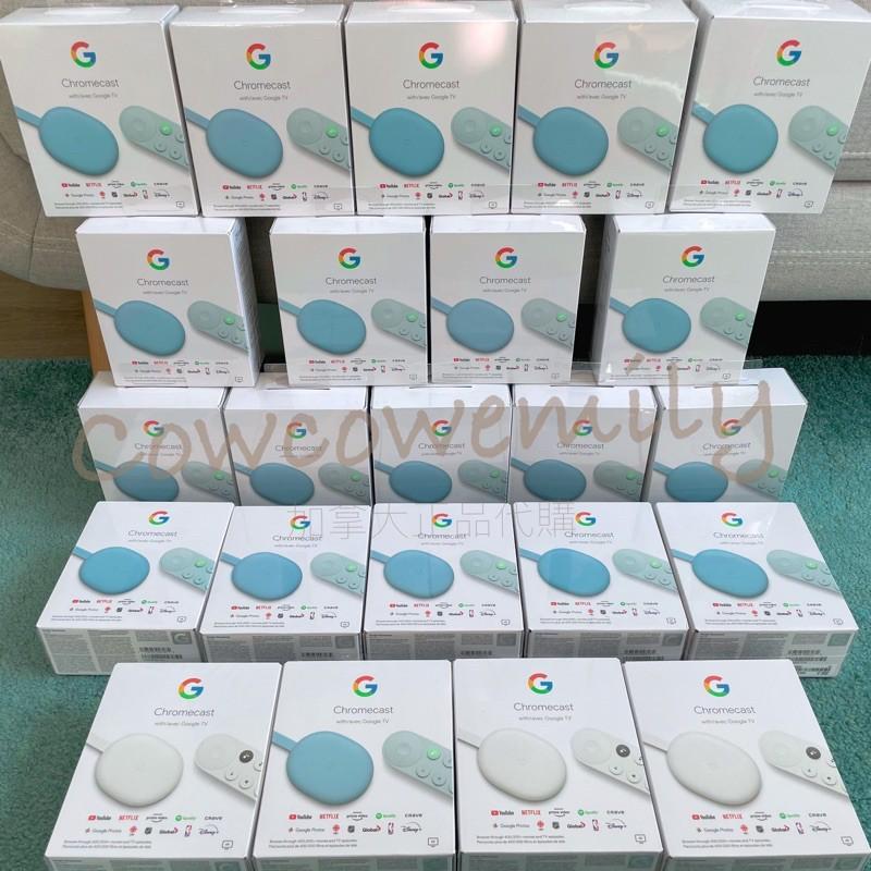🇨🇦正品代購[最新 第四代]Chromecast with Google TV 高畫質電視棒