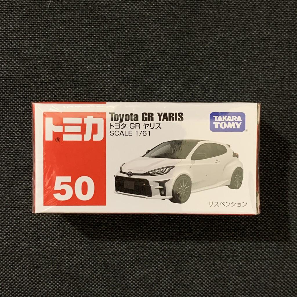 [小樂]全新現貨日版 Tomica 多美 No.50 Toyota GR Yaris 模型車 50