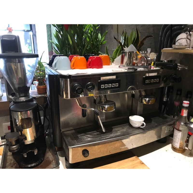 ✨二手 IBERITAL L'anna 2GR營業用半自動義式雙孔咖啡機(已附配件照)
