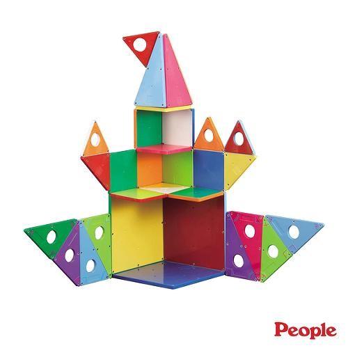 People 華達哥拉斯磁性幾何積木組合[免運費]