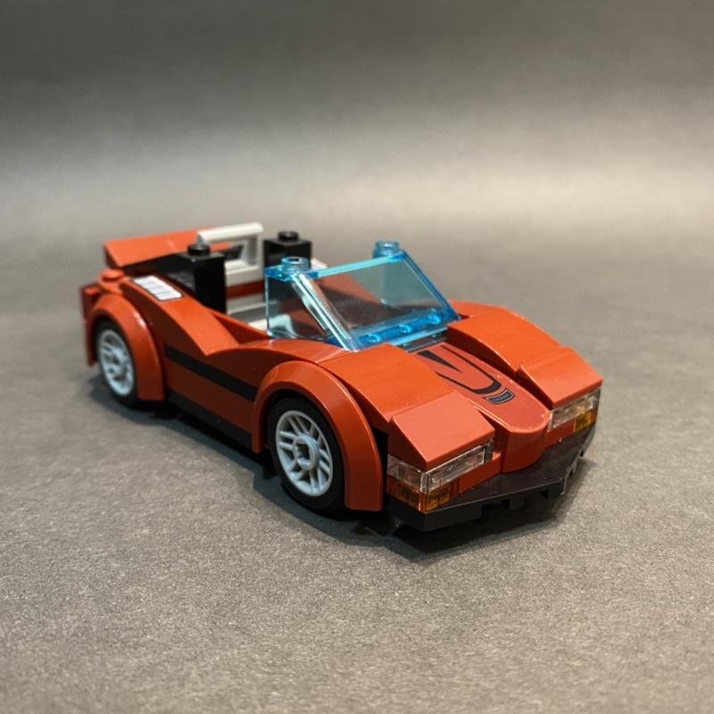 【保存良好】LEGO 60138 城市 CITY 跑車