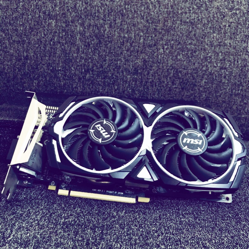 【微星】Radeon™ RX470 ARMOR 8G OC 顯示卡 / 礦卡 參考rx570 rx580