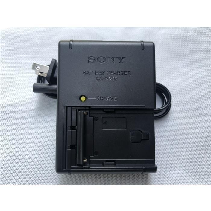 索尼BC-VM10相機電池充電器FM500H A99 A77 A57 A58 a900 A57座充