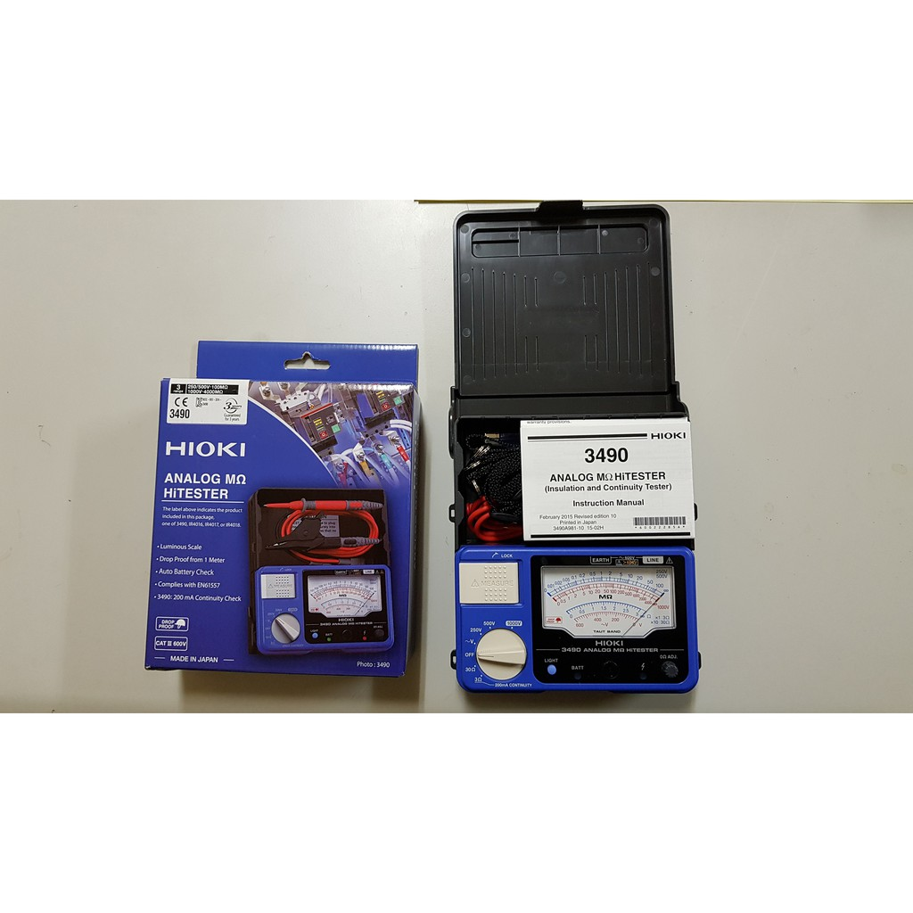 Hioki 201811 Infrared Thermo Hi Tester Ft3701 20
