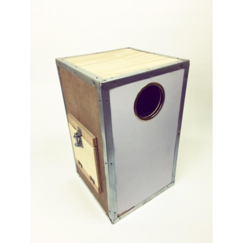 全厚板中型鸚鵡繁殖巢箱30*50
