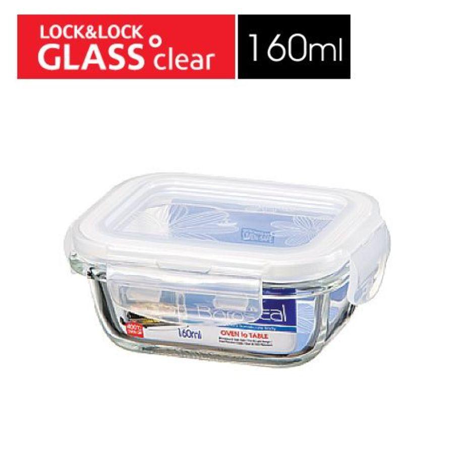 【JOJO】樂扣樂扣第三代耐熱玻璃保鮮盒/長方形/160ml(LLG413)