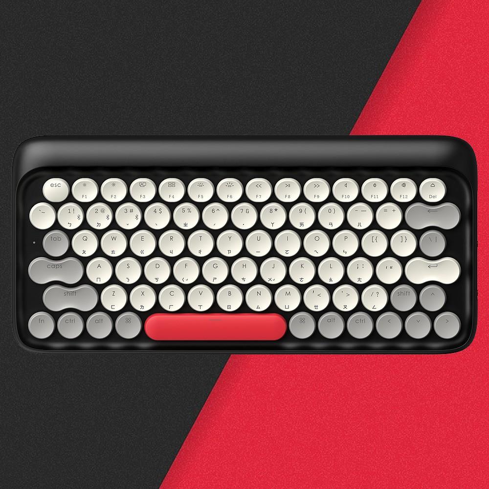 LOFREE 打字機鍵盤 全球限定注音版 (冬 / 紅)<現貨><免運>
