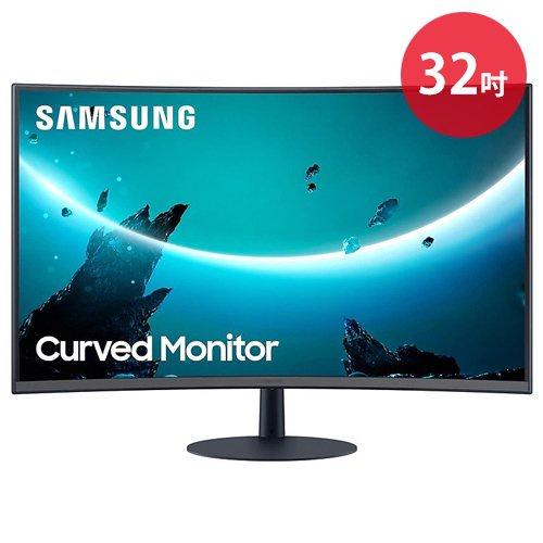 【現貨】SAMSUNG 三星 24 / 27 / 32吋1000R曲面顯示器 CT55
