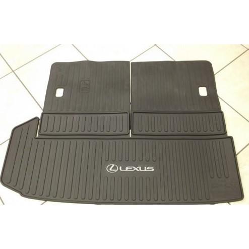 ㊣USA Gossip㊣ Lexus 原廠 RX350L 行李箱 防水腳踏墊 腳踏板