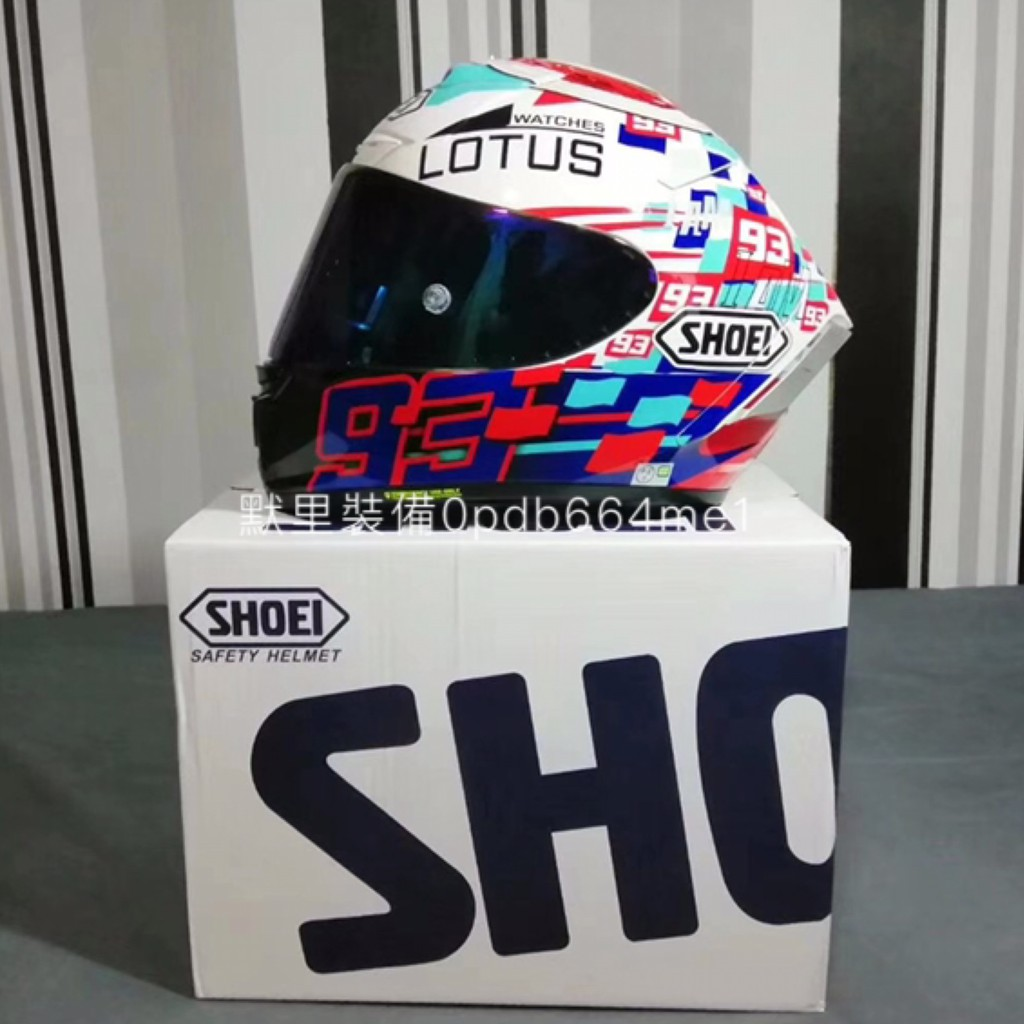 日本原裝 SHOEI X14 X-14 電源鍵 全罩式 安全帽 X-FOURTEEN 實拍