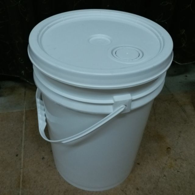 20L 塑膠桶 導流孔+防漏壓條 塑膠桶 化工桶 密封桶 食品級