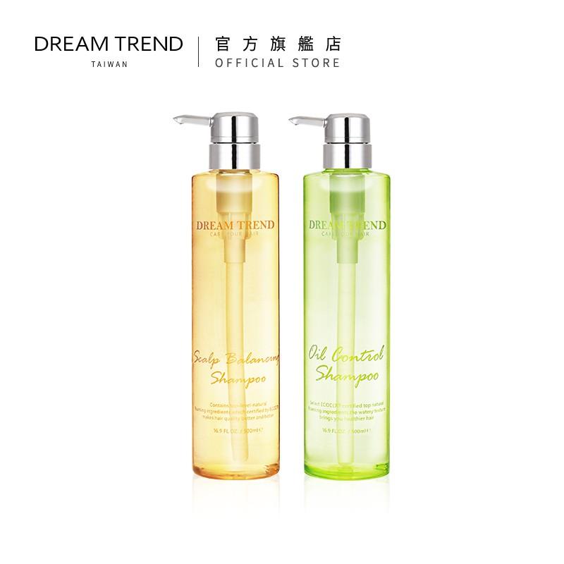 DREAM TREND 凱夢 – 植萃健髮洗髮精 / 輕呼吸控油洗髮精 500ml