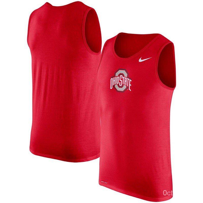 現貨 美版商品 Nike X Ohio State NCAA限定背心 運動系類 ZJkB