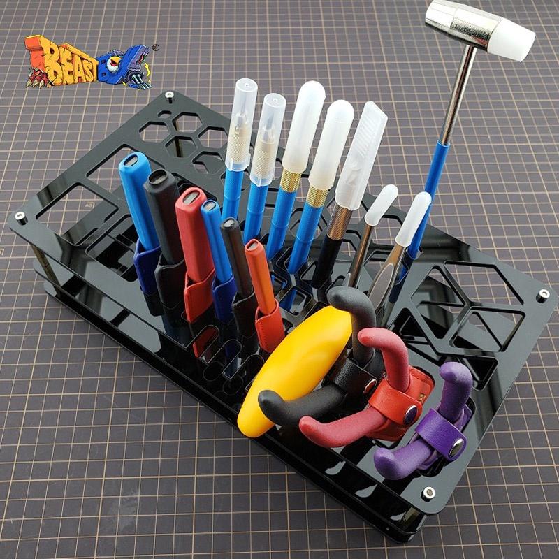 🎉現貨🎉箱牌工具架軍事高達模型工具桌面整理擱置收納架手工制作工作臺