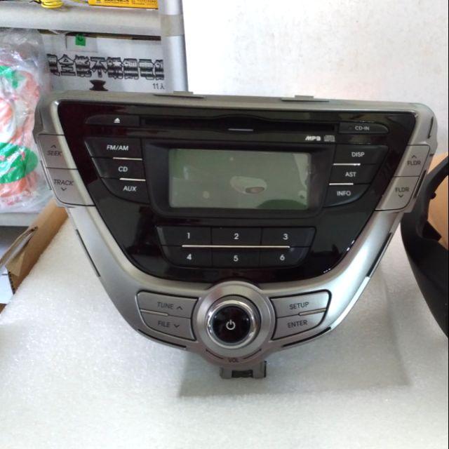 Hyundai elantra 2013 原廠 音響