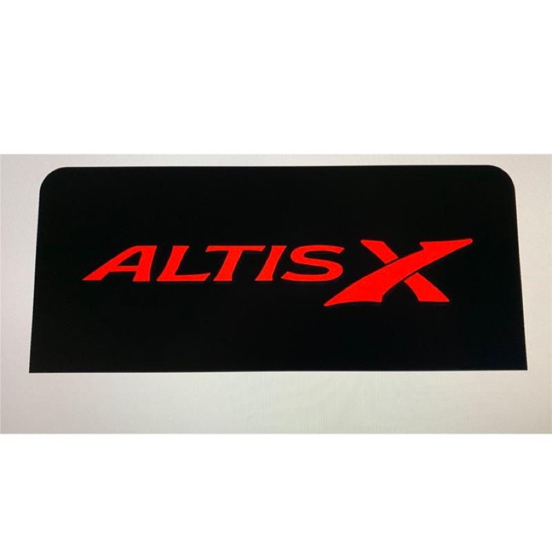 Toyota ALTIS 11代客製後煞車燈飾板