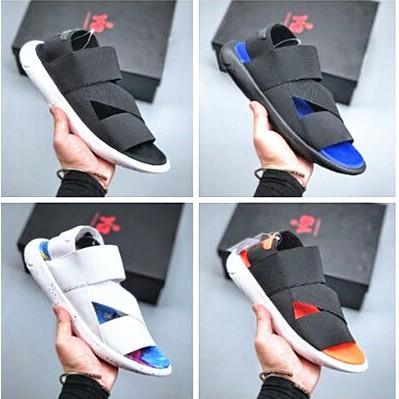 愛迪達 Yohji Yamamoto by Adidas Y-3 新版前衛運動涼鞋 繃帶 忍者 超軟舒適休閒涼鞋 男女鞋