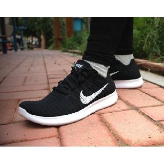 全新正品Nike Free RN Flyknit 黑白 襪套 針織 赤足 5.0 編織 男女 831069-001