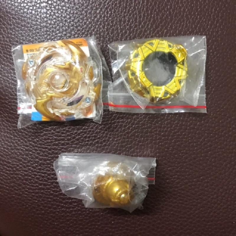 戰鬥陀螺 beyblade burst ,金色,132,o軸,R軸,嗜血神槍,絕版,異色
