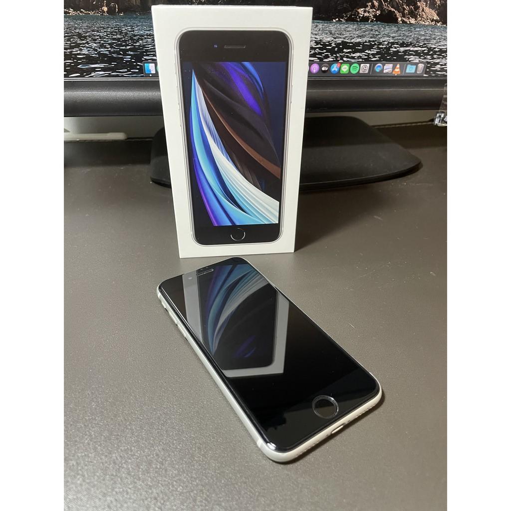 Apple iPhone SE2 128G 4.7吋 白色 送Apple Care+至5/11/2022