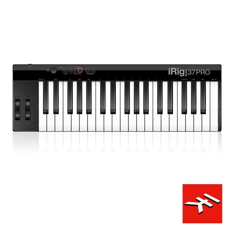 【公司貨】IK iRig KEYS 37 PRO 鍵盤控制器 MIDI 標準鍵 MAC/PC