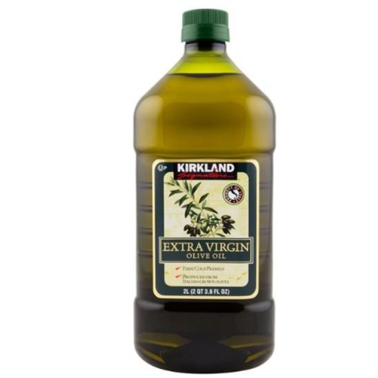Kirkland Signature 科克蘭 冷壓初榨橄欖油 2公升 W1058619