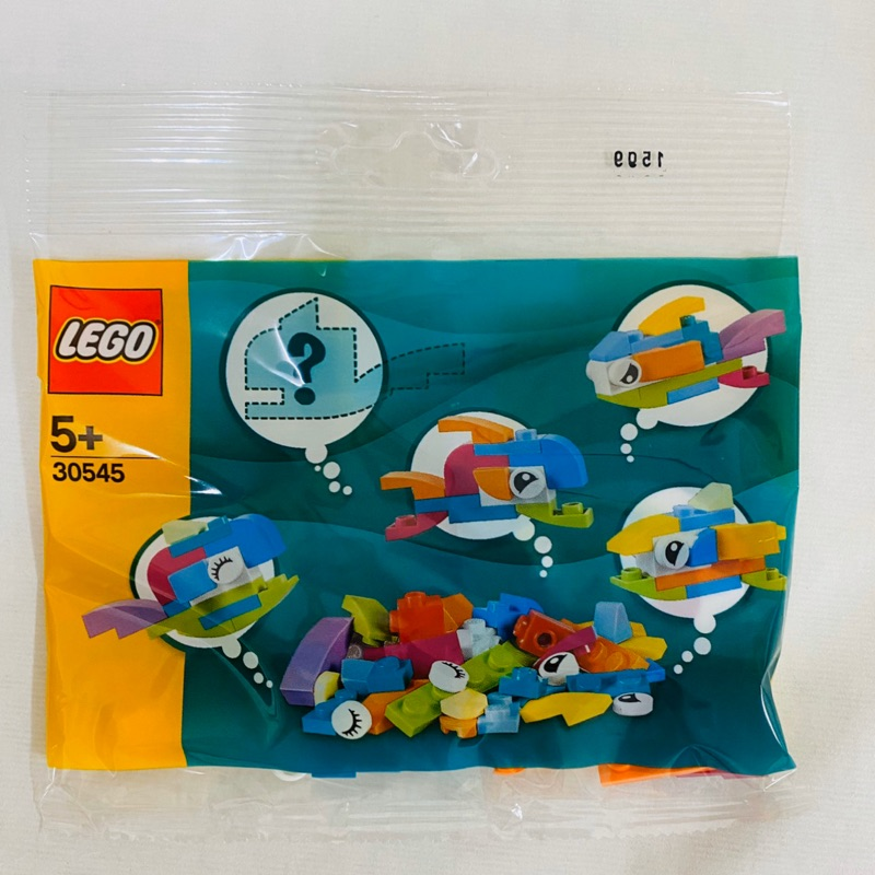 LEGO 樂高 30545 Fish Free Builds