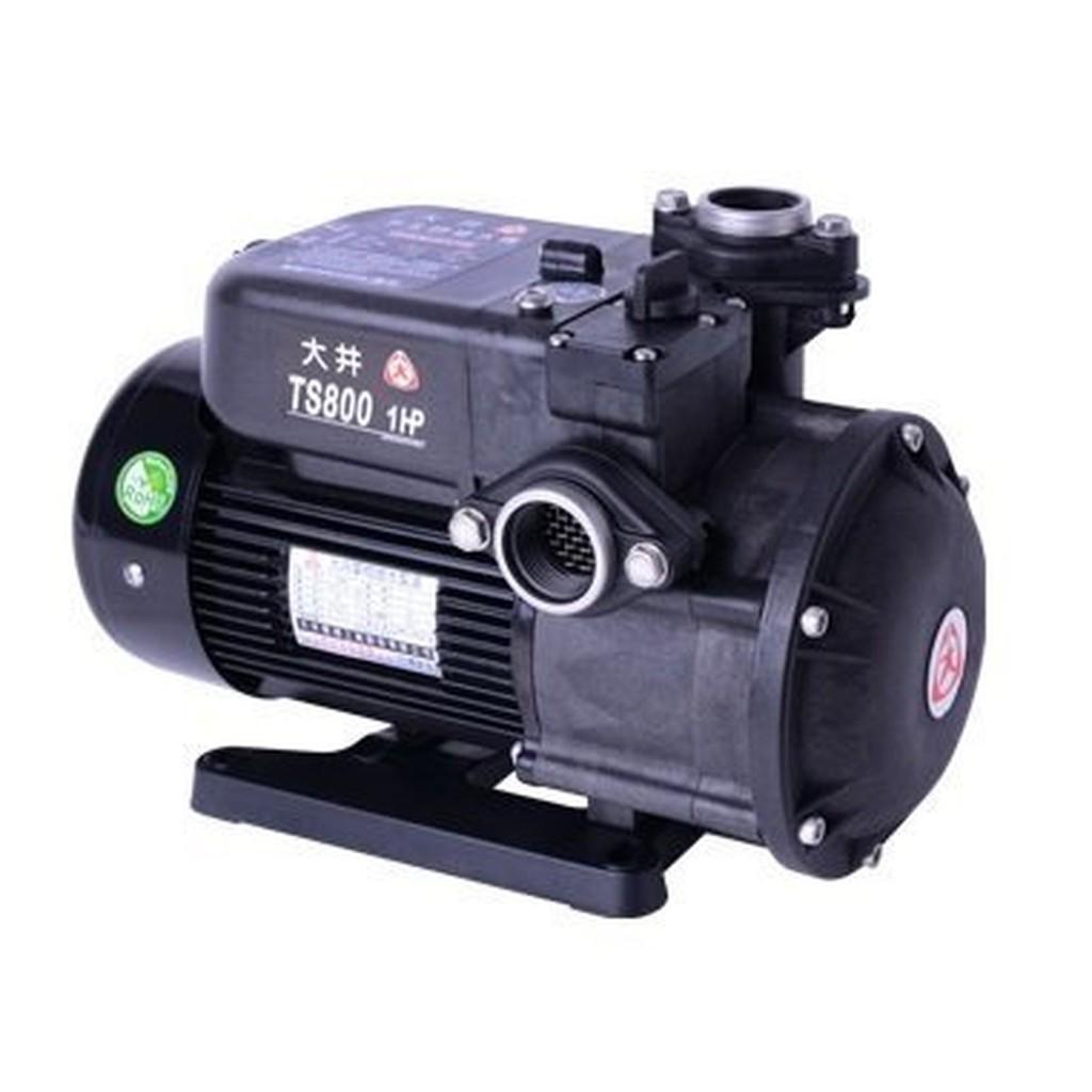 ╭☆優質五金☆╮大井泵浦靜音不生銹1HP抽水馬達~抽水機~海水適用~TS800 TS800B