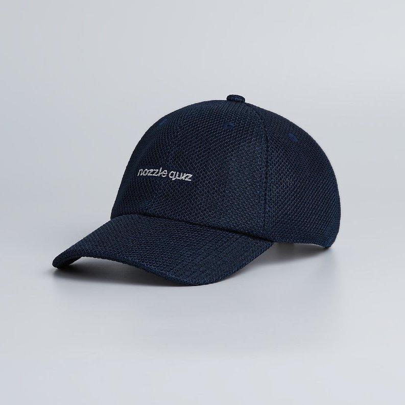 NOZZLE QUIZ WK.P-01 經典棒球帽 - 深藍 / Navy