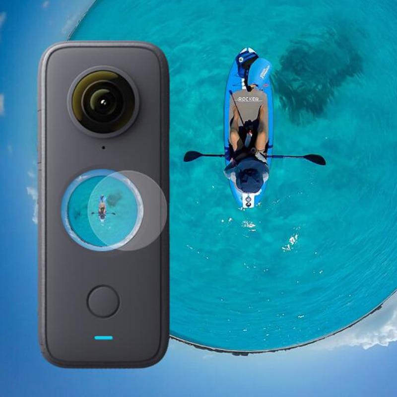 適用於 Insta360 One X2 Sport Insta 360 運動相機 LCD 屏幕保護膜配件新型鋼化玻璃屏