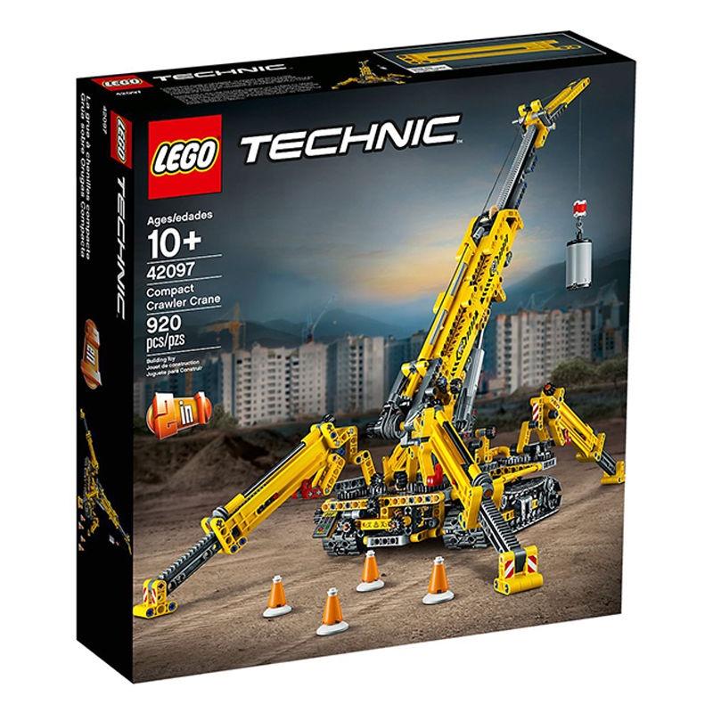 👾👾【現貨】樂高積木機械組42097蜘蛛起重機男孩兒童玩具