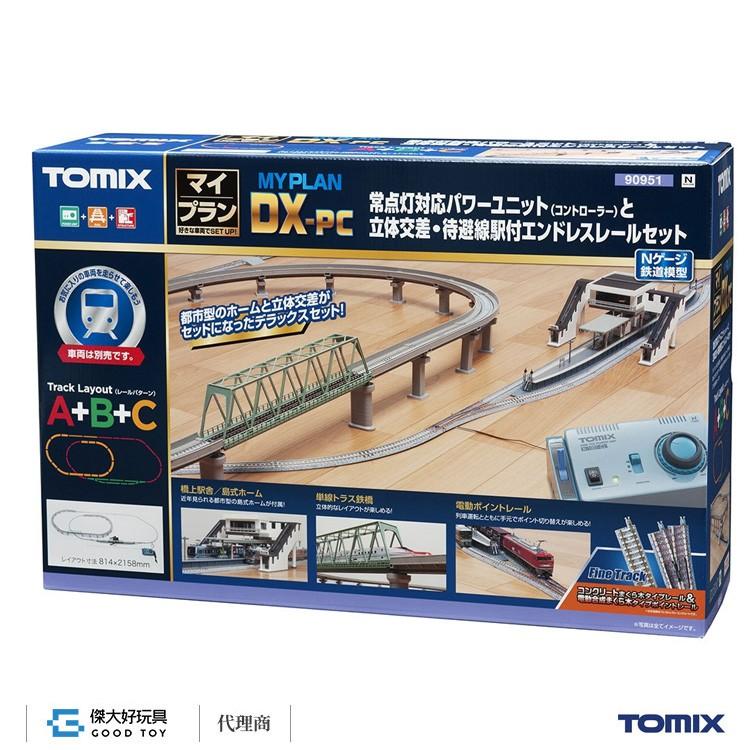 TOMIX 90951 線路組+控制器 MY PLAN DX-PC (F) (線路模式A+B+C)