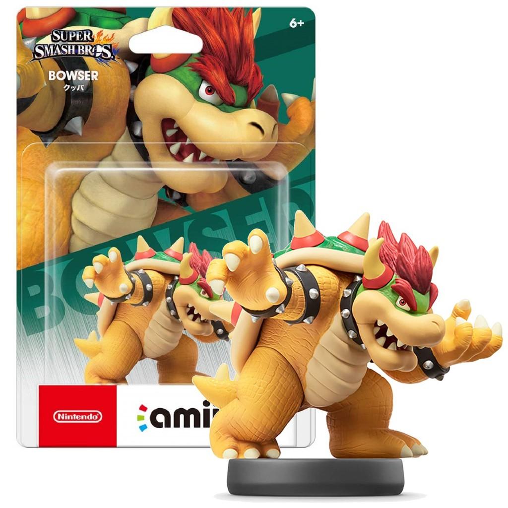 Nintendo Switch Wii U 任天堂明星大亂鬥 amiibo 庫巴 BOWSER 【台中星光電玩】