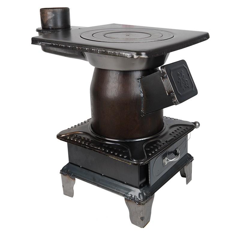 【免運】日本進口柴火爐家用取暖爐燃煤炭爐子戶外燒柴爐燒煤燒碳爐柴火灶