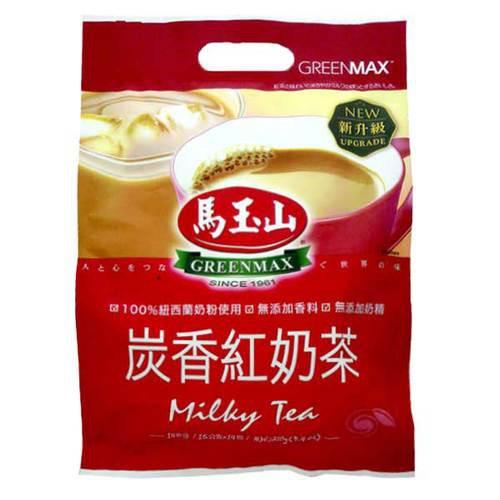 馬玉山 炭香紅奶茶 (15g x14入)/袋【康鄰超市】
