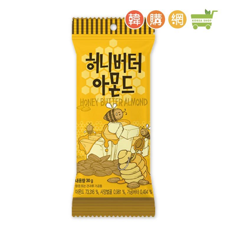 韓國Tom's GILIM蜂蜜奶油杏仁果30g【韓購網】
