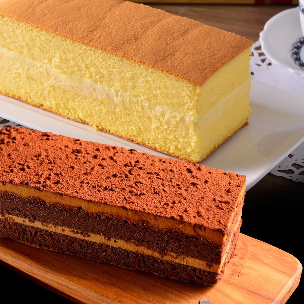 《the secret cake 法國的秘密甜點》布丁燒諾曼地+鹽之花焦糖巧克力蛋糕兩入組