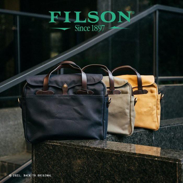 BTO 美國【Filson】Rugged Twill 70256 油蠟帆布公事包 筆電包