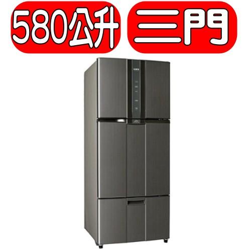《可議價》SAMPO聲寶【SR-N58DV(K2)】580公升變頻三門冰箱