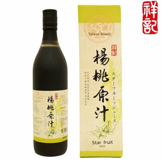 祥記 楊桃原汁 600ml/瓶