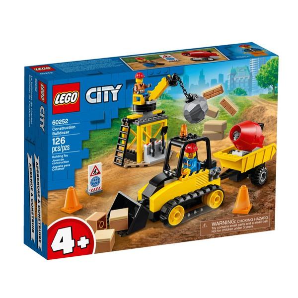 樂高LEGO City城市系列 工程推土機 60252