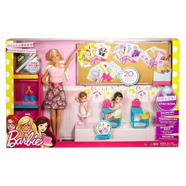 Mattel 芭比 娃娃 老師上課組 【哈玩具】