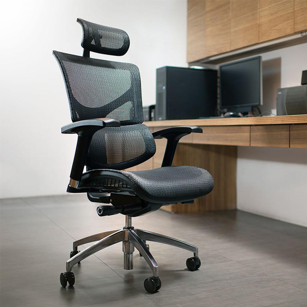 Ergoking 全功能網布人體工學椅 171-S(黑 / 灰)辦公椅 電競椅 艾格