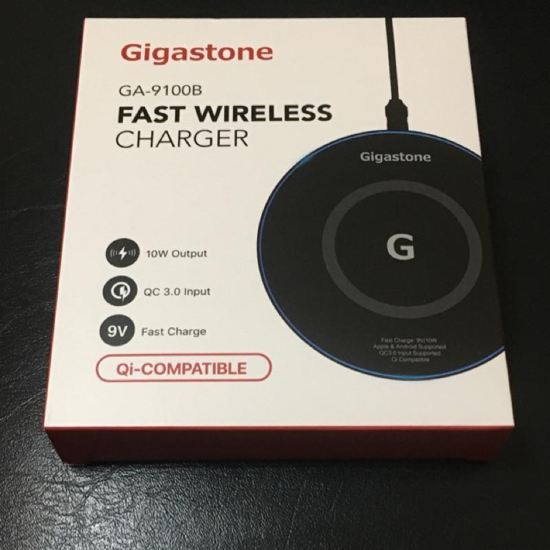 Gigastone無線快充充電盤9V/10W(GA-9100B)