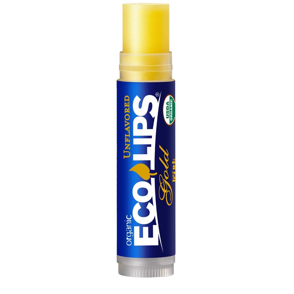 美國ECO LIPS 依蔻麗唇 天然護唇膏-原味(無色_滋潤)_透明袋裝