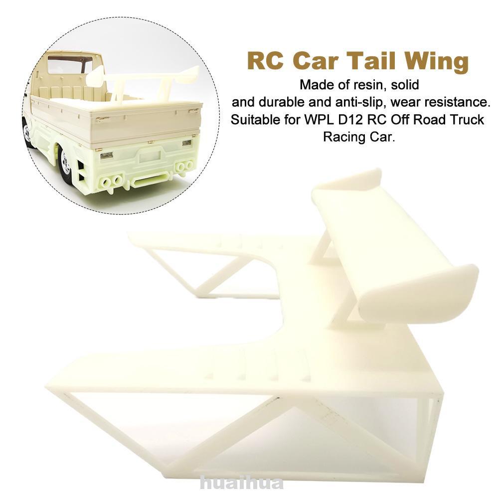 Rc Wpl D12 的 Rc 汽車尾翼卡車造型更換零件漂移